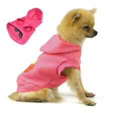 Pet Dog Cat Cute Strawberry Hoodie Clothes Warm Coat Jacket Puppy Apparel