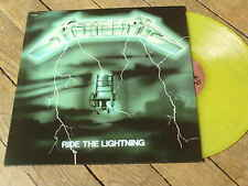 METALLICA Ride the lightning  LP Vynil couleur