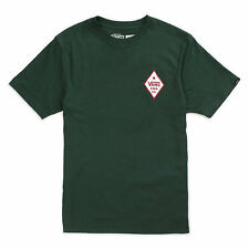 VANS YAKUTAT GRIZZLY FORREST GREEN TEE MENS CASUAL SKATEBOARD T SHRIT AUSTRALIA