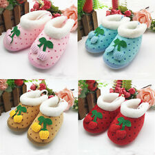 1 Pair Baby Cute Polka Dot Non-Slip Boots Toddler's Shoes Infant Winter Soft