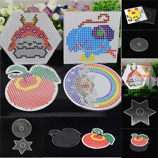 Wholesale Large Pegboards for 5mm Perler Bead Hama Fuse Beads Clear Board Crafts