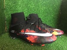 NIKE VAPOR MERCURIAL SUPERFLY LAVA R9 RONALDO R10 T90 VAPOR SOCCER SHOES LIMITED