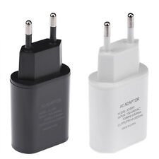 5V/2A USB AC Power Cell Phone Tablet Wall Charger Charging Adapter US/UK/EU Plug