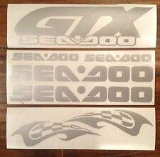 Seadoo, Sea doo, Sea-doo, GTX Custom Graphic decal kit, Free Shipping