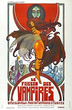 Shiver Of Vampires (aka Le Frisson des Vampires) Movie POSTER (1971) Horror