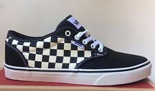 Vans Atwood Checkers Black / Natural White Mens Womens Shoes Sizes 8.5-13