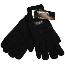 Mens RJM Thermal Thinsulate Fleece Autumn Winter Gloves GL130