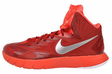 Men's Nike Lunar Hyperquickness Basketball Shoe Gym Red/Met Sil/White 652775-606