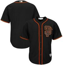 San Francisco Giants MLB Mens Cool Base Alternate Jersey Black Big & Tall Sizes