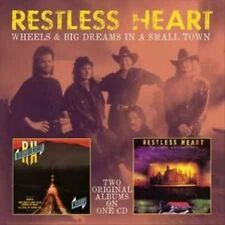 Wheels/big Dreams in a Small Town - Restless Heart CD-JEWEL CASE