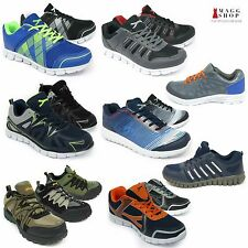 New Mens Sneakers Sports Breathable Running Gym Athletic Lightweight Shoes Boots