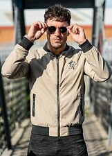 Mens Gym King Lightweight Bomber Jacket in 3 Colours