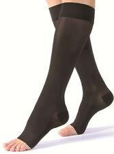 Jobst Ultrasheer 15-20 mmHg Open Toe Knee High Moderate Compression Stockings
