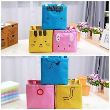 Childrens Lunch Bags Insulated Cool Bag Kids Cute Animal  School Picnic Bags