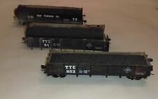 HO Scale TAP Timber Co. coal cars