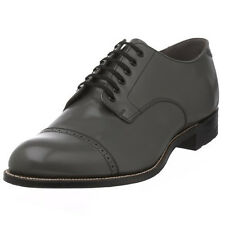 Stacy Adams Mens Steel Gray Madison Cap Toe Dress Formal Oxford Wide Medium Shoe