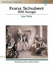 Schubert 100 Songs : The Vocal Library (2000, Paperback)