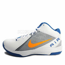 Nike The Air Overplay IX [831572-102] Basketball White/Orange-Star Blue