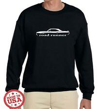 1970 Plymouth Road Runner Hardtop Classic Outline Design Sweatshirt NEW