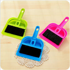 Hot Desktop Keyboard Brush Small Broom Suit Cleaning Tools Small Broom Dustpans