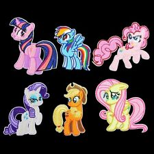 10pcs/set My Little Pony Embroidered Embroidered Applique Sew Iron on Patches DI