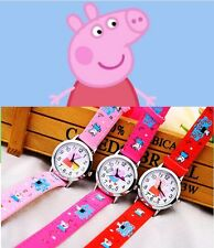 Children's watches for girls and boys Peppa Pig watch cartoon