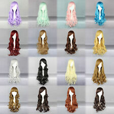 New Fashion Women Girl Wavy Curly Long Hair Full Cosplay Party Sexy Lolita wig
