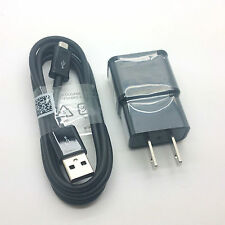 New Original Samsung Black Home Micro USB Charger Galaxy Note 4 5 S3 S4 S6 S7