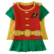 Baby Boy Robin Boy Cosplay Party Romper Funny Infant Babygrow 6-24 Months
