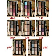 New Nude Glitter Matte Eyeshadow Eye Shadow Palettes With Brush Makeup Cosmetics
