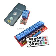 1/8 Channel Infrared Remote Control Switch Relay Multi-function 5/12V LED