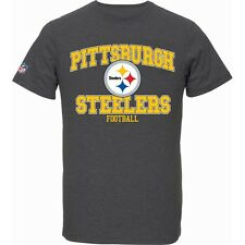 Majestic NFL TRESER Shirt - Pittsburgh Steelers charcoal