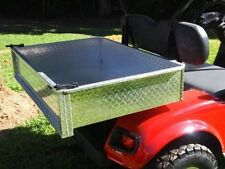 GOLF BUGGY CART CART POLISHED ALLOY UTE TRAY WITH FITTING KIT AND TAILGATE