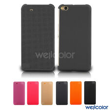 New Fashion Ultra Slim Dot View Flip Case Cover for HTC One X9
