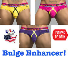 NEW! Andrew Christian underwear Sexy Brief Bulge Enhancing Pouch USA Seller Fast