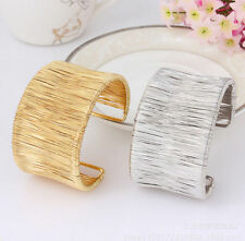 Lots Style Fashion Women Vintage Bangle Cuff Bracelet Punk Gold Plated