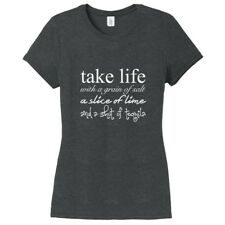 Take Life With A Grain Of Salt Women's Fitted T-Shirt