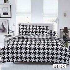 NEW Twin Double Queen King Bed Set Quilt Duvet Cover Pillow Case Big Star Ous