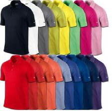 NEW MENS NIKE GOLF Dri-Fit VICTORY SOLID Polyester Polo SHIRT, PICK COLOR & SIZE