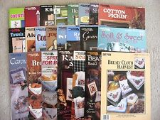 Leisure Arts Pattern Leaflets - Mostly Cross Stitch - You Choose