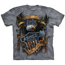 ARMED FORCES T-Shirt The Mountain United States American Army Navy Marines S-5XL
