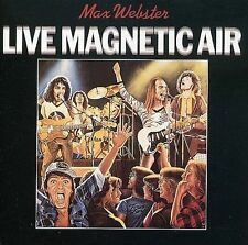 RARE~ NEW~Live Magnetic Air by Max Webster (CD, 1995 MaGaDa cdn)~FREE 1ST US!