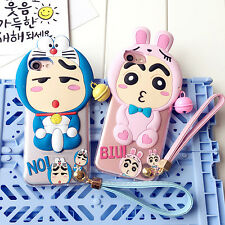 Hot Anime Cartoon Lovely Crayon Shin Chan Silicone Soft Case for iPhone 7 7 Plus
