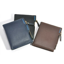 Luxury Mens Bifold Business Leather Wallet Money Card Holder Coin Bag Purse Gift