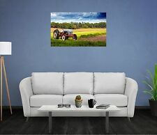 Landscape Country Mural Scene TRACTOR FARM DAY #2 Wall Sticker Decal Art Graphic