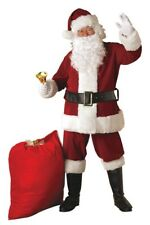 Santa Suit Plus Deluxe Suit with Beard