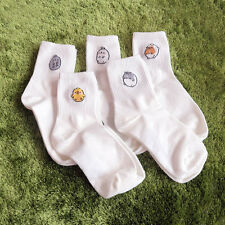 Molang korea Charater Fashion Women Casual Cute color Socks - basic