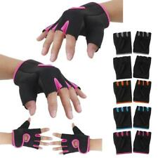 NEW Outdoor Sports Cycling Bicycle Bike Half Finger Fingerless Gloves Mittens