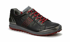 ECCO 2017 Mens Biom Hybrid 2 Black Brick Hydromax Waterproof Leather Golf Shoes