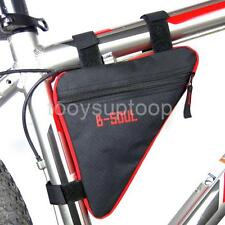 Bicycle MTB Bike Frame Tube Front Triangle Saddle Bag Phone Pouch Pannier Case